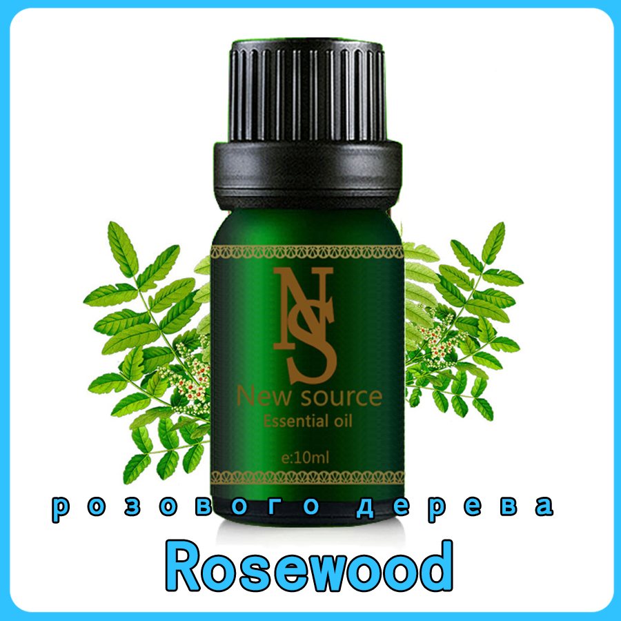Rosewood Essential Oil 10ml 100% Pure Plant Rosewood Oil Wrinkle Delay Skin Aging Improve Dry Moisturizing Skin Care