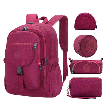 5pcs/set ACEPERCH Girls Teenagers School bags Boys School Backpack Women Daypack Backpack Student Travel Laptop Backpack Mochila