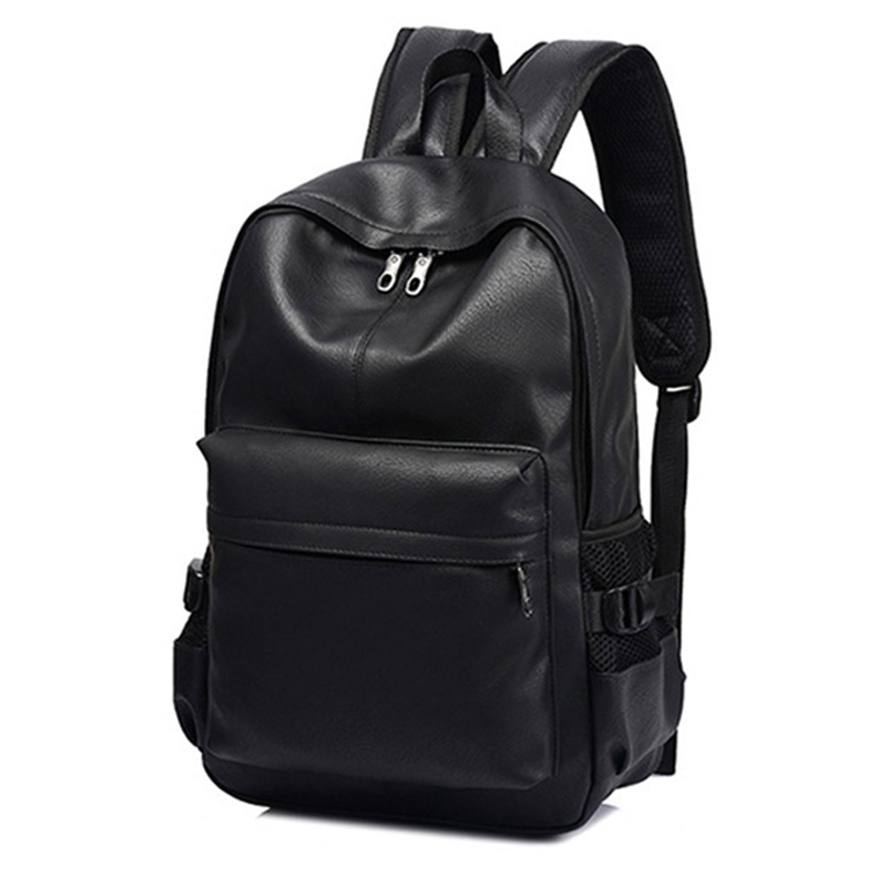 Fashion Men Backpack For Teenager Girls Luxury Designer Leather Backpacks Male Student Travel Laptop Backpack School Bag For Men