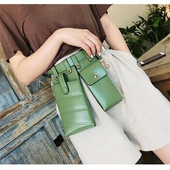 Fashion Women Solid Waist Bag PU Leather Belt Bag Cross Body Chest Bags Fanny Pack Mini Phone Bag For Female Brand New