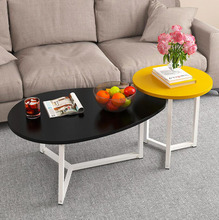 Living Room Combination Coffee Table Wooden Sturdy Durable Table Dinner Coffee Tea Desk Table Indoor Home Furniture