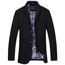 Весна Осень мужские спортивные пиджаки и куртки повседневный