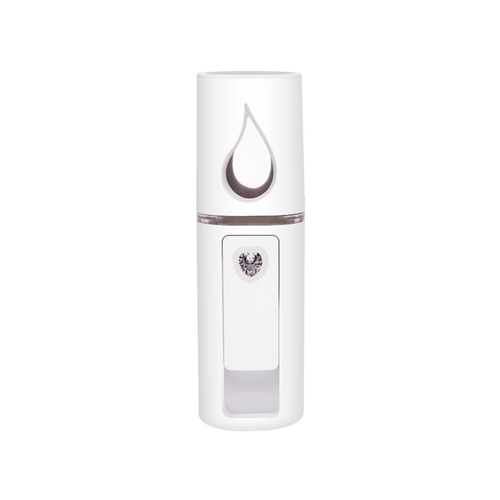 Handheld Humidifier USB Rechargable Handheld Water Meter Charging Mini Steamed Face Humidifier Portable Size