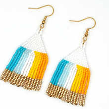 Go2boho Bohemian Tassel Earrings Rainbow MIYUKI For Women Boho Chic Summer Jewelry Handmade Loom Beads Insta Fashion