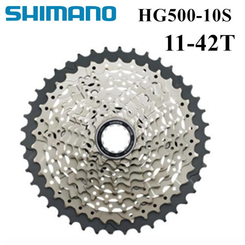 M6000 CS HG500-10 MTB Mountain Bicycle flywheel MTB HG500 10S CASSETTE SPROCKET 11-42T 10speed