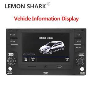 "Image 2 - Android Auto Carplay Car Radio 6.5 "" MQB MIB Noname 5GD035280B MirrorLink For VW Golf 7 MK7 VII Passat B8  5GD 035 280 B"