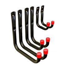 6 шт. многофункциональные металлические сверхмощные гаражные крючки для хранения, настенные крючки A0NE