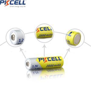 Image 5 - Baterie PKCELL Ni MH AA 2600mAh 2800mAh 1.2V akumulator NiMh 2A komórka Batteria do latarek zabawki aparatu