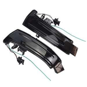 Image 4 - 2pcs For Mercedes Benz A Class W176 2013 2017 A180 A200 A250, A45 LED Blinker Dynamic Turn Signal Light Side Mirror Repeater