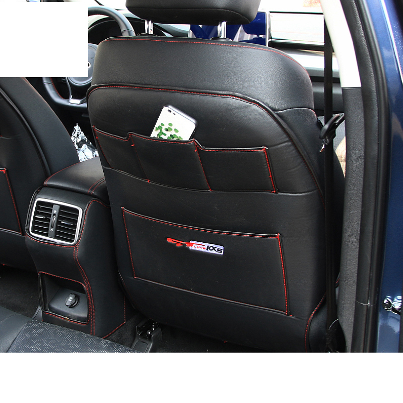 Lsrtw2017 Car Rear Seat Armrest Anti kick Mat for Kia Kx5 Sportage Forte Rio 2016 2017 2018 2019 2020 Interior Accessories in Interior Mouldings from Automobiles Motorcycles