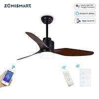Zemismart WiFi Tuya Fan Light with Switch Alexa Google Home Enable App remote Timer Control