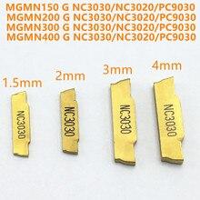 Korloy Slotting Tool MGMN150 MGMN200 MGMN300 MGMN400 NC3020 NC3030 PC9030 Slotted and Carbide Metal Turning Tools