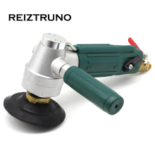 Air-Wet-Polisher Water-Sander REIZTRUNO Pneumatic with 1piece Rubber Backer-Pad 3-
