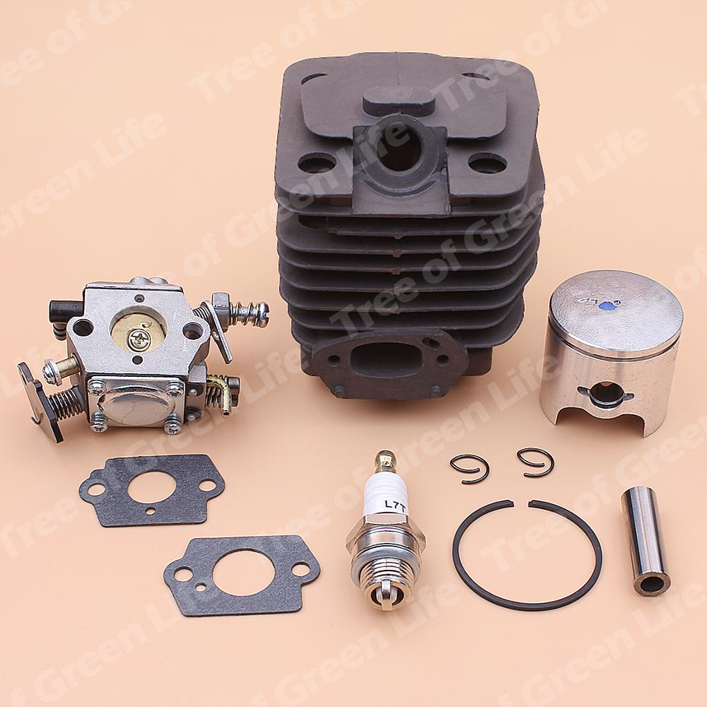 Gasket Part For Cylinder 39mm Kit Spark Carburetor Chinese 3800 Plug Piston Chainsaw 38cc Replace