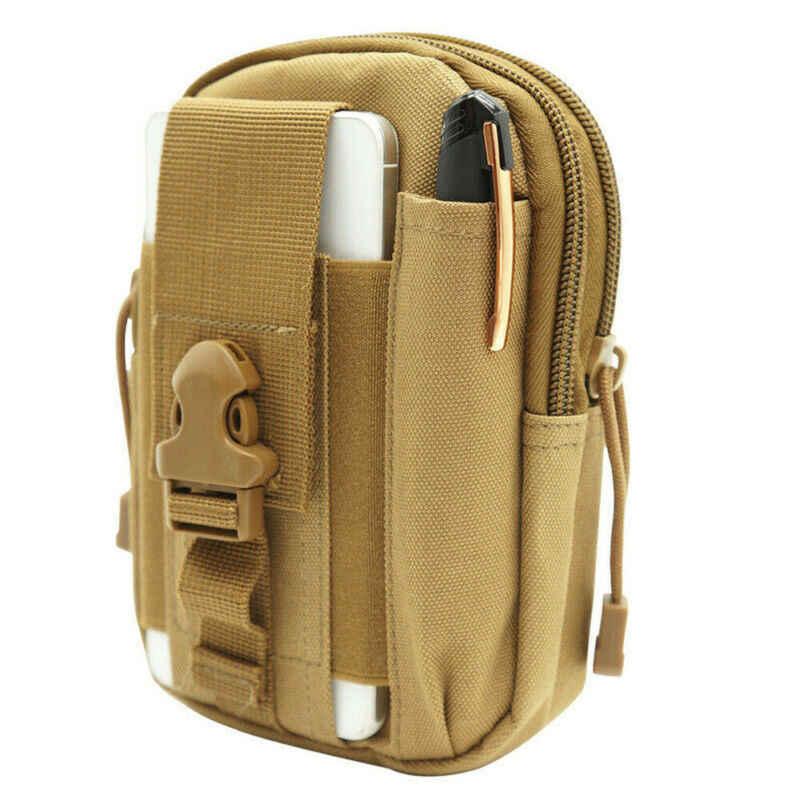 Nuovo Tattico Militare Outdoor Sacchetto di Cinghia di Vita Molle del Pacchetto Del Sacchetto Fanny Tasca Del Telefono