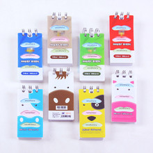 Pocket Diary Coil-Book Korean Stationery Study Memo-Notes Book-Carry Kids Manual English-Word