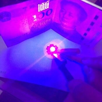 10 sztuk 1W LED UV diody dioda elektroluminescencyjna 1W UV fioletowy LED wysokiej mocy lampy koraliki 1Watt ultrafioletowe 395-400nm diody 20mm PCB