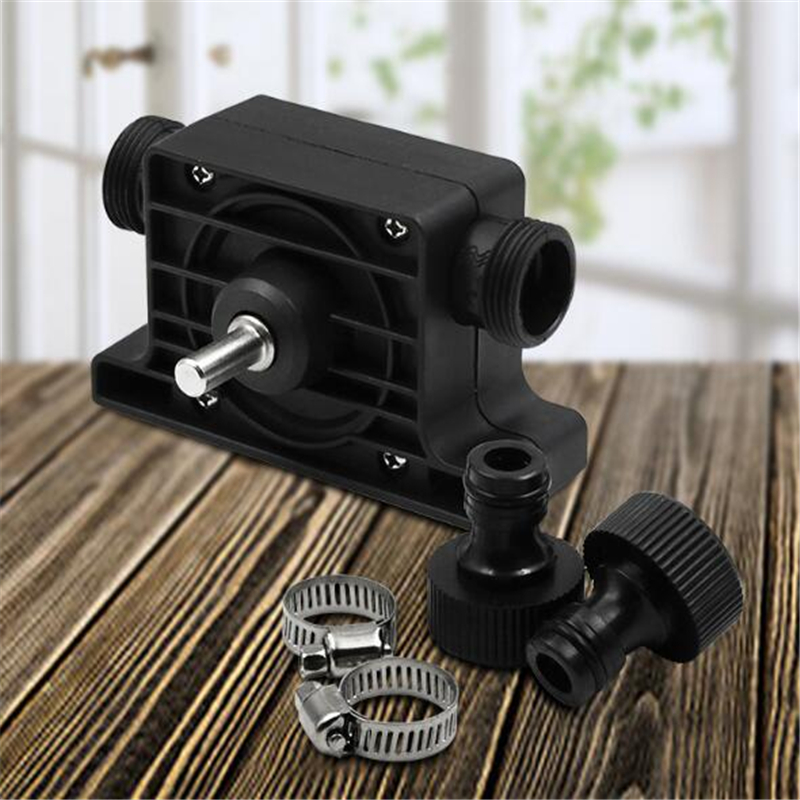 Oil Fluid Water Pump Portable Electric Drill Pump Self Priming Transfer Oil Fluid Water Pump Shank For Electric Drill