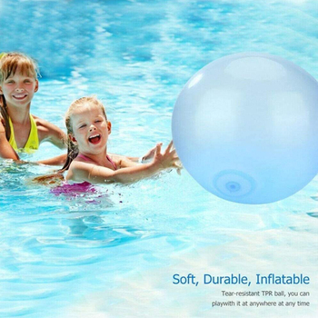 120cm Bubble Ball XL Outdoor Soft Squishies Air Water Filled Bubble Ball Inflatable Magic Bubble Giant 2 0m dia inflatable water ball water walking ball human hamster ball giant inflatable ball water zorb ball