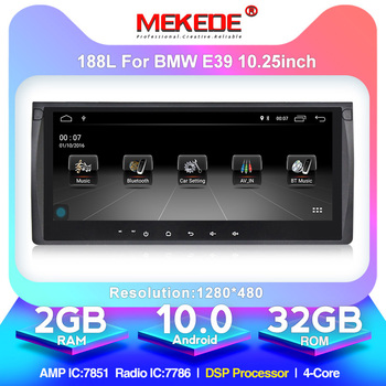 MEKEDE Android 10.0  In Dash Car DVD Player Multimedia For BMW/E39/X5/M5/E38/E53 With Canbus Wifi GPS Navigation Radio FM