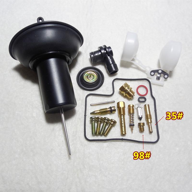 Карбюратор HMHonda VLX 400/600 Steed 400/600 для мотоцикла Keihin NV400CC, комплект для ремонта с плунжером и поплавком в сборе, 1 комплект $16