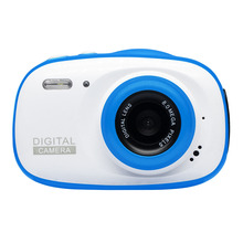 Digital Camera 2 Inch HD Screen Toy 6X Zoom Waterproof Lightweight Kids Gifts Educational Portable M
