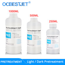 Light & Dark Pretreatment Liquid Solution For Textile Ink Pre-Coating For DTG Printer Before Printing Fluid (3 Capacity Options)(China)