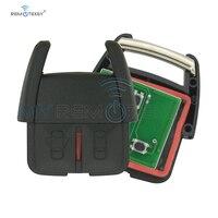 Remtekey 2000 2001 2002 2003 2004 için Opel Vauxhall Holden Astra G Zafira bir araba anahtarı 93176615 fob 2 düğme 433Mhz uzaktan anahtar