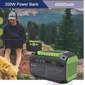 Wall-Socket Phones Power-Bank Laptops Solar-Panel 45000mah Portable High-Capacity 200W