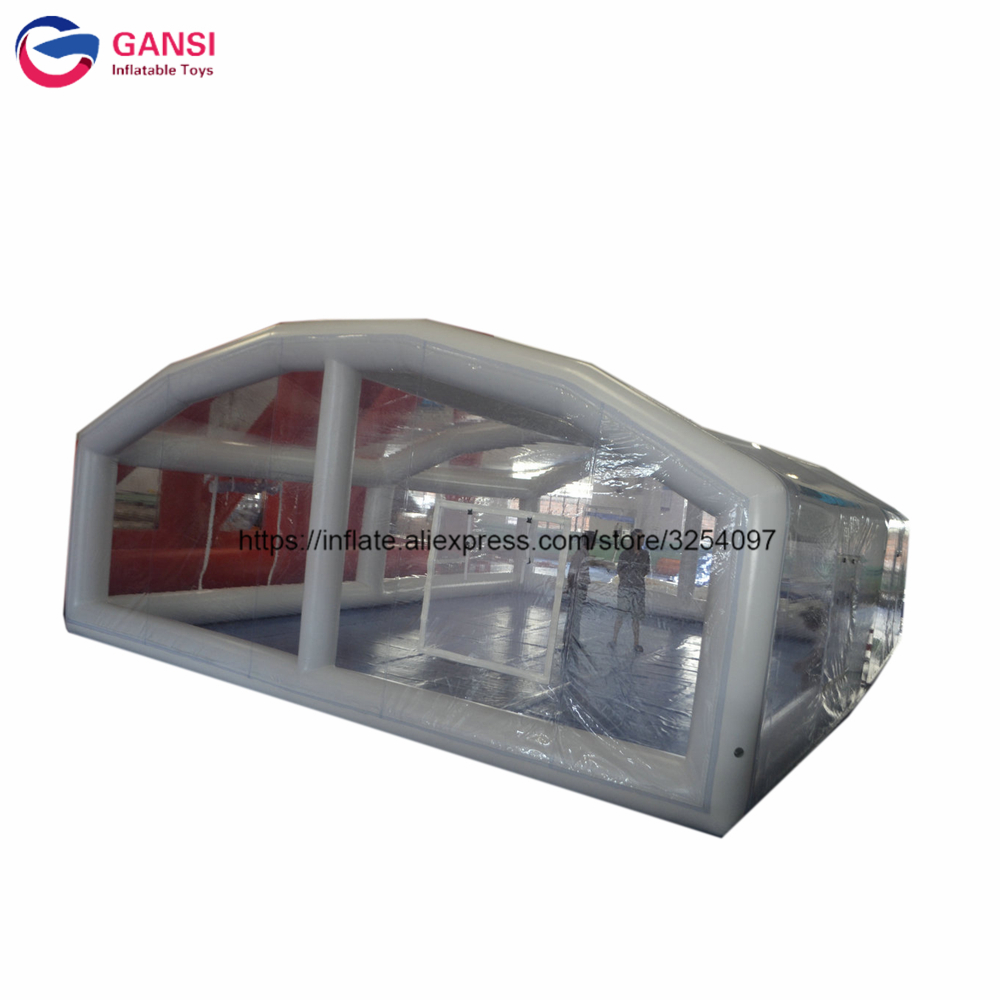 Customized Clear Roof Tent Inflatable Swimming Pool Shelter Tent ,inflatable Pool Cover Tent For Winner