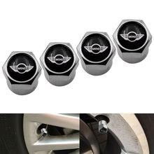 4 pçs acessórios do carro peças de pneus roda válvula haste plugues capa para bmws mini coopers um s r50 r53 r56 r60 f55 f56 estilo do carro