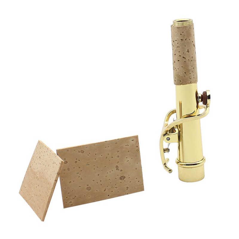 Natuur neck cork board voor Alt/Sopraan/tenorsaxofoon 2 pcs