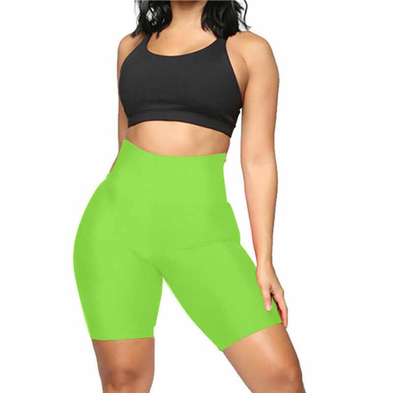 Elite Pleasure Ladies Womens Stretchy Skinny Striped Lycra Cycling Short Active Sports Leggings Pants UK Plus Size S-6XL