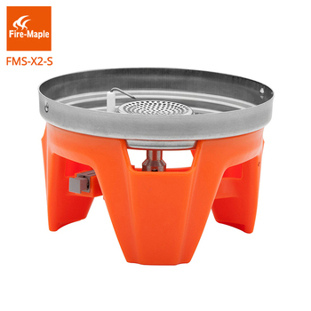 Fire Maple Stainless Steel One-Piece Portable Spare Outdoor Hiking Camping Stove For Fixed Star X2 X3 Cooking Stove 65g FMS-X2-S цена 2017