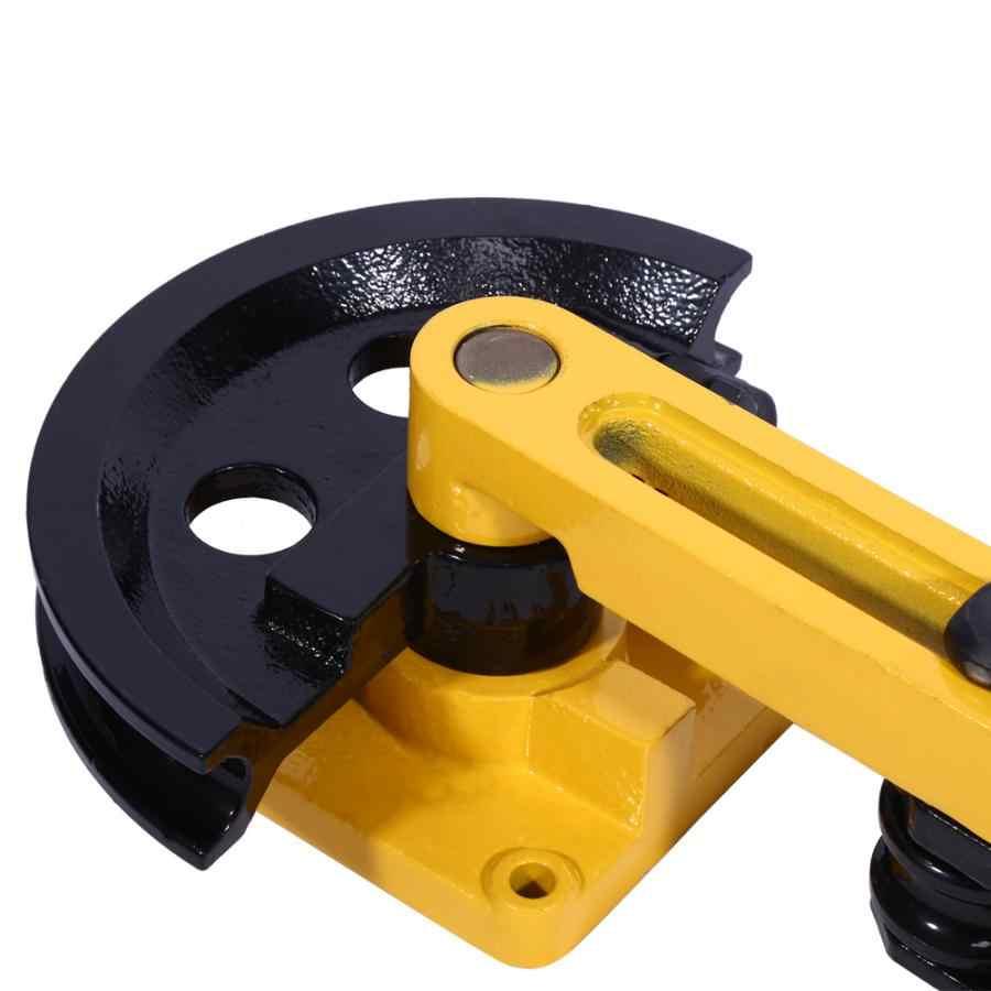 คู่มือท่อ Bender Lever ประเภทหลอดเหล็กคาร์บอนท่อดัดมือเครื่องมือเส้นผ่าศูนย์กลาง 10-25 มม.Bender เครื่องมือ