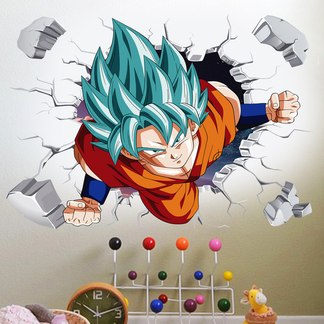 3D Broken Hole Goku 4