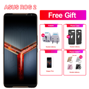 "Brand New Asus ROG Phone 2 Game Phone 6.59"" 8GB RAM 128GB ROM Snapdragon 855+ NFC ROG Phone II ZS660KL 6000mAh LTE Mobile Phone(China)"