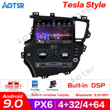 Tesla style Android 9.0 Car GPS Navigation car No DVD Player For KIA Optima/KIA K5 2010-13 car stereo headunit Multimedia player