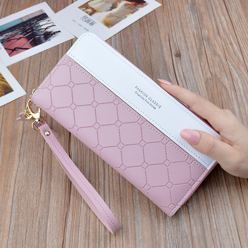 Women Long Wallets Purses Lady Clutch Bag Female Card Holder Zipper Phone Pocket Cute Ladies Purse Cartera Mujer Monedero.