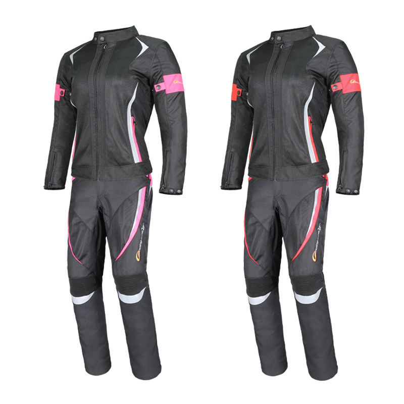 Motorcycle Protective Gear Women Jackets waterproof Moto Pants Breathable Mesh Touring Motorbike Clothing Riding Tribe 2