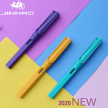 2020 New Jinhao Fountain Pen Fashion Popular Plastic Colorful Classic Business Gift Ink Pens Nice Office Matte School - discount item  70% OFF Pens, Pencils & Writing Supplies