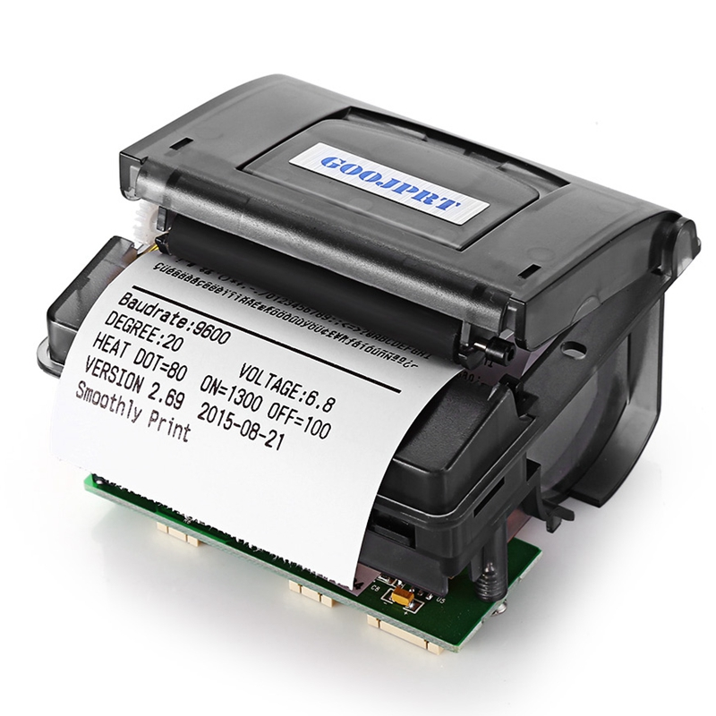 Goojprt Qr203 58Mm Micro-Mini Embedded Thermal Printer Rs232+Ttl Panel Compatible Eml203 For Receipt Ticket Barcode
