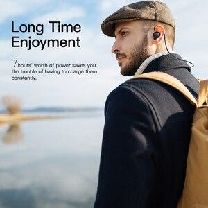 Image 3 - 2 יח\חבילה GGMM אלחוטי Bluetooth אוזניות אוזניות ספורט אוזניות IPX4 עמיד למים אוזניות עם מיקרופון אוזניות תמיכה AAC