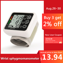 Pelvifine speech New Health Care Automatic Wrist Digital Blood Pressure Monitor Tonometer Meter for Measuring And Pulse Rate