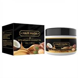 Controle intensivo do óleo da máscara do cabelo do nutriente do condicionador do reparo para o condicionador seco e danificado da perda do cabelo anti-cabelo