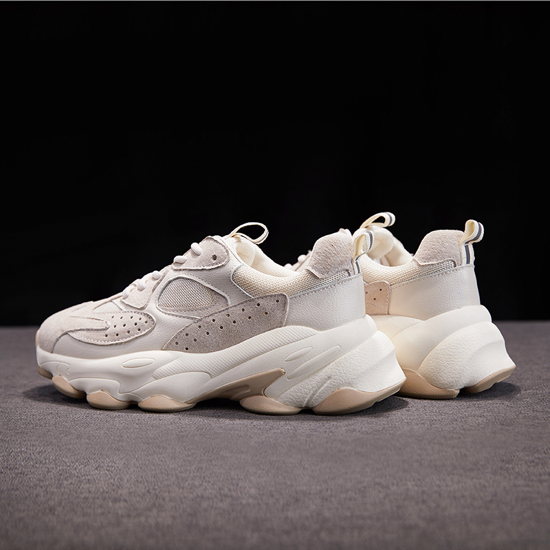 Liren 2019 Summer Fashion Casual Vulcanize Shoes Lace up Comfortable Breathable Flat Heels Round Toe Women Casual Shoes in Women 39 s Vulcanize Shoes from Shoes