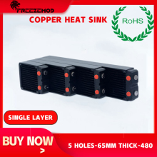 Copper Radiator Water-Cooler FREEZEMOD Computer Pc TSRP-HP45-360 45MM Thick Rohs-Certification
