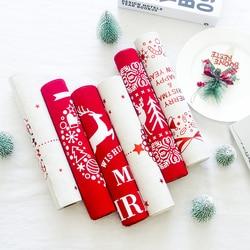 270cm świąteczny styl tabeli Runner łoś bożonarodzeniowy druk obrus na ozdoby świąteczne akcesoria