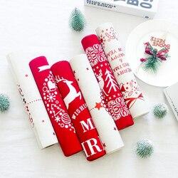 6 cores 270 centímetros Corredor Da Tabela Do Natal Xmas Elk Impresso Toalha de Mesa Acessórios de Decoração Para Casa para o Dia de Natal