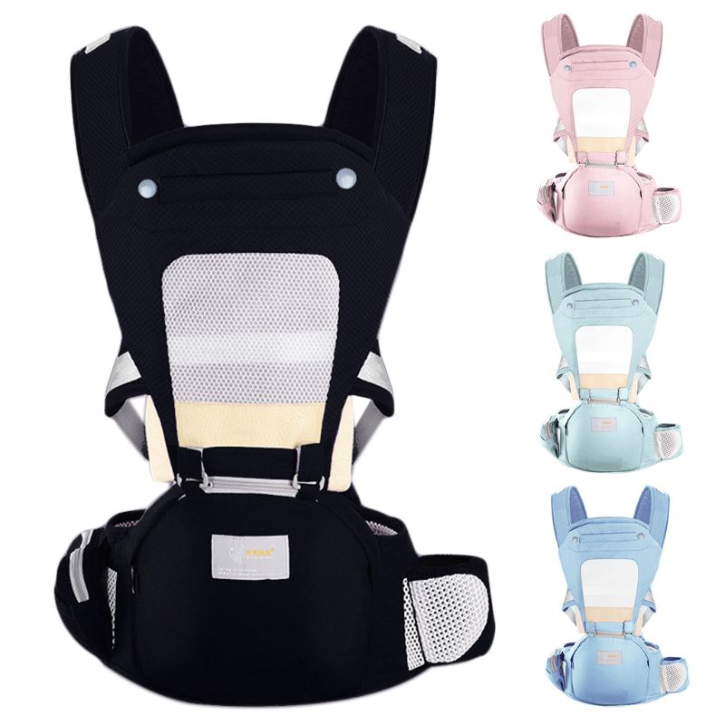 Mother Baby Strap Waist Stool Breathable Multi-function Waist Stools Child Kids Holding Supplies N1HB